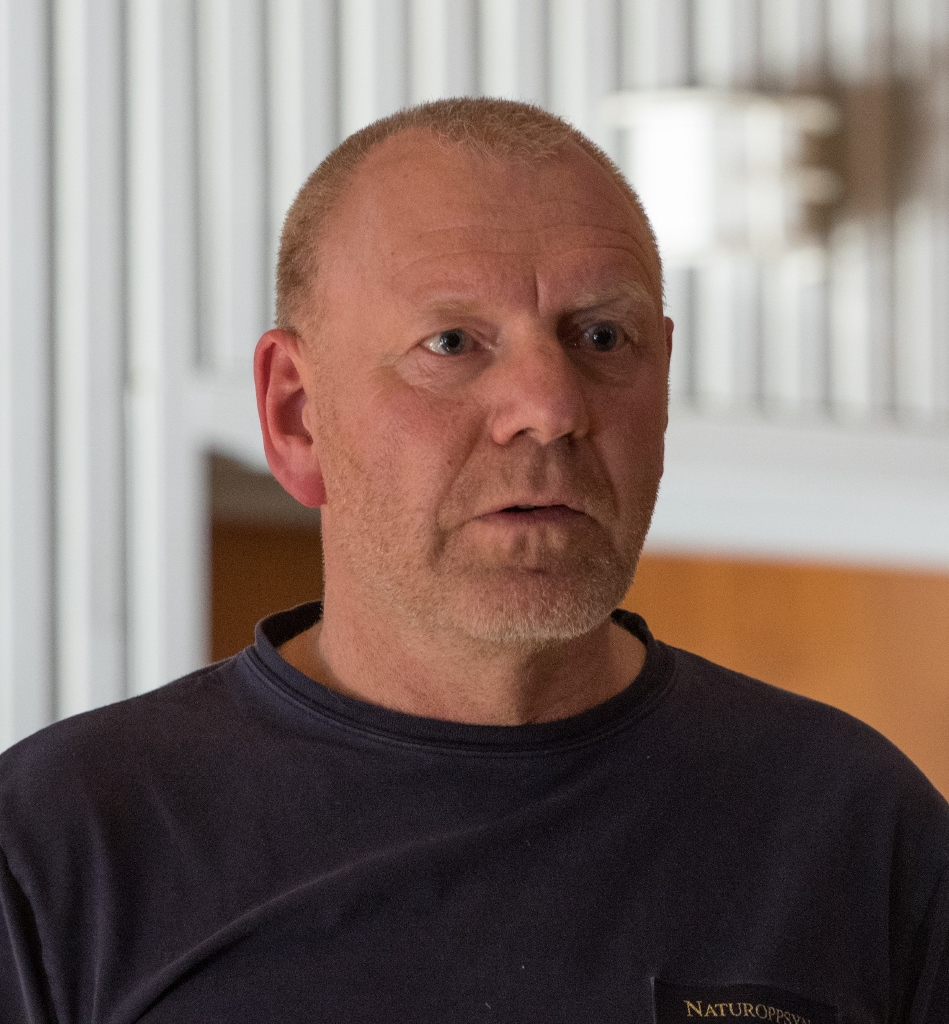 Knut Nylend, SNO. Foto: Kjell Bitustøyl