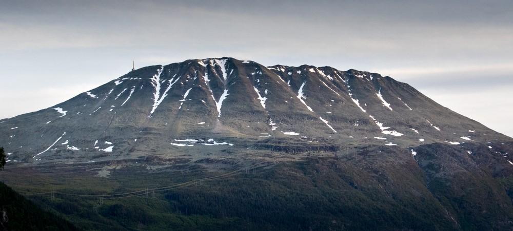 Gaustatoppen. Foto: Kjell Bitustøyl