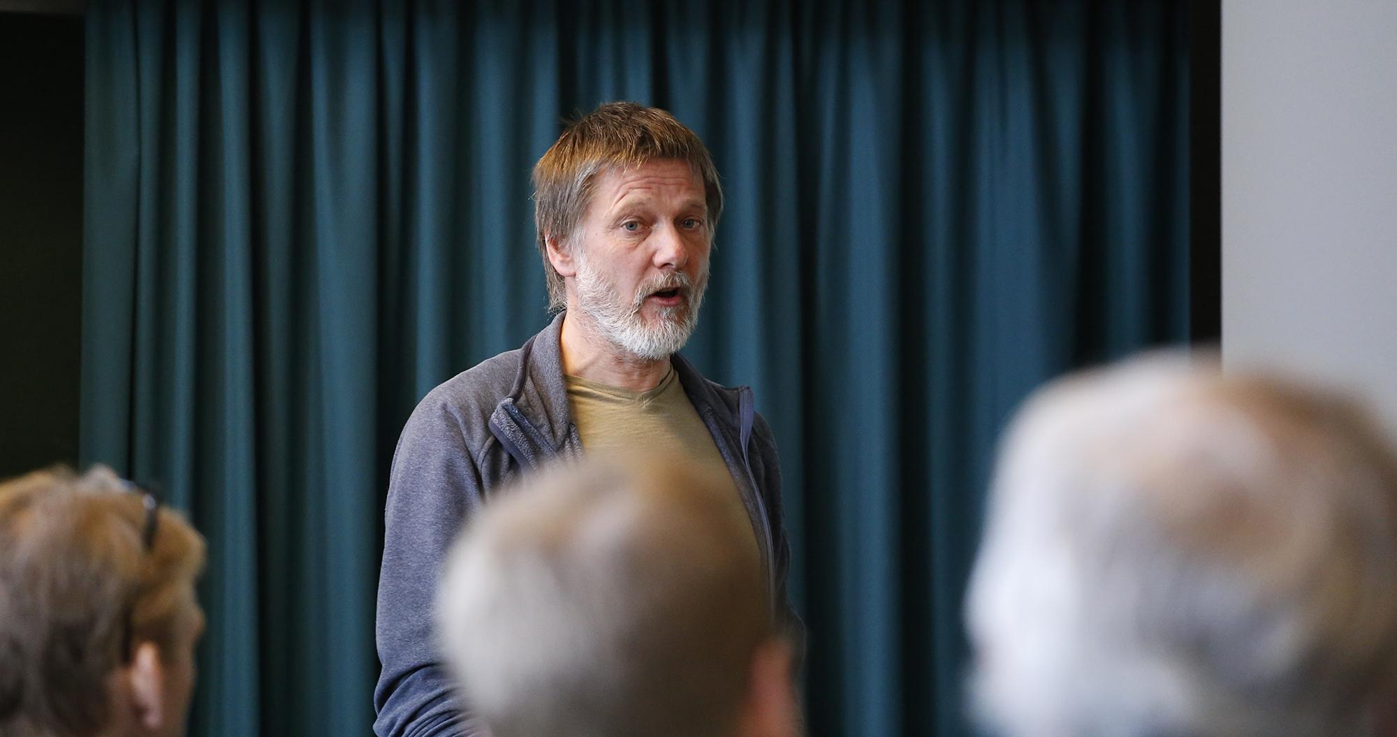 Sekretær for villreinnemnda for Setesdalsområdet, Jarle Lunde. Foto: Anders Mossing