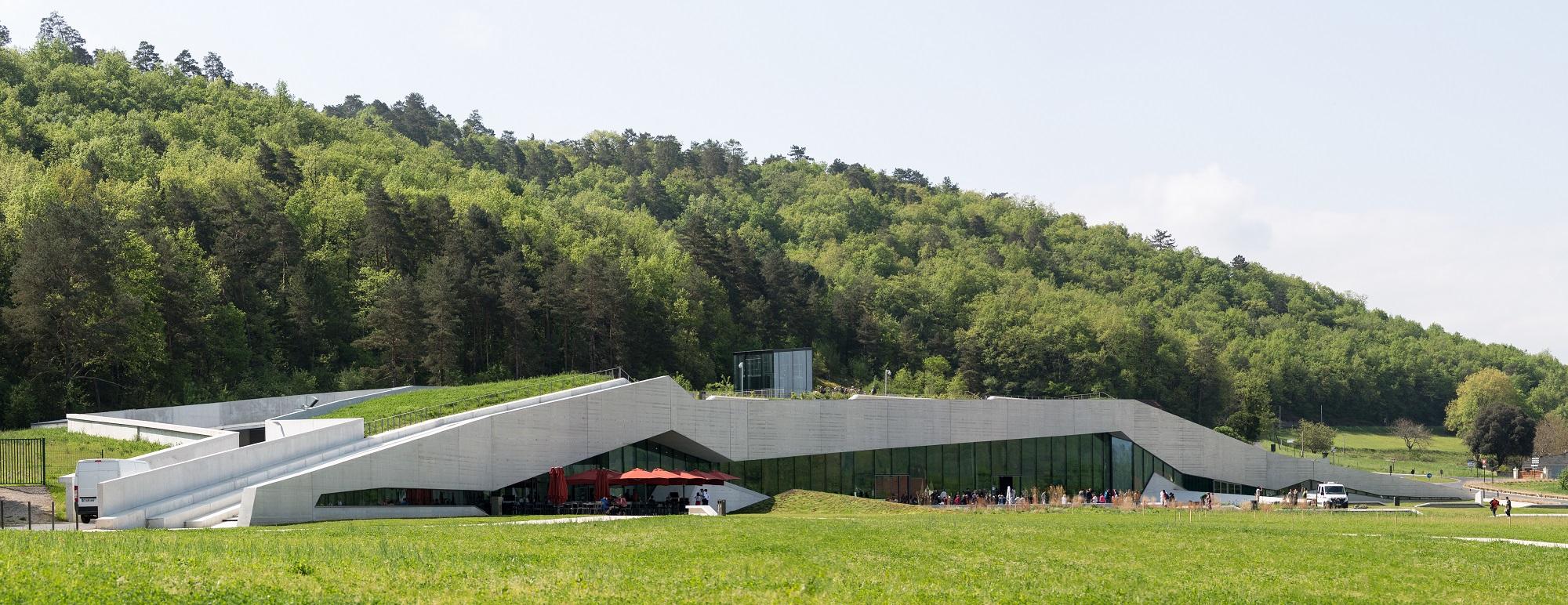 Lascaux Centre Internasjonal, teikna av det norske arkitektkontoret Snøhetta. Foto: Kjell Bitustøyl