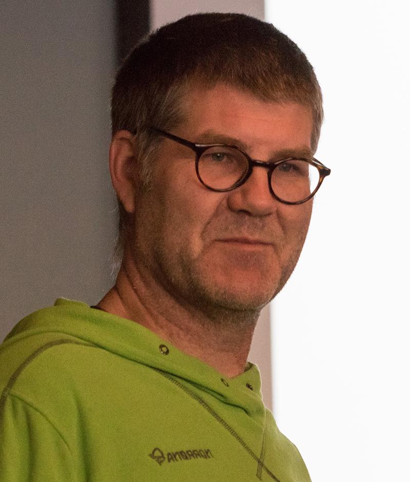 Øistein Aasland. Foto: Kjell Bitustøyl