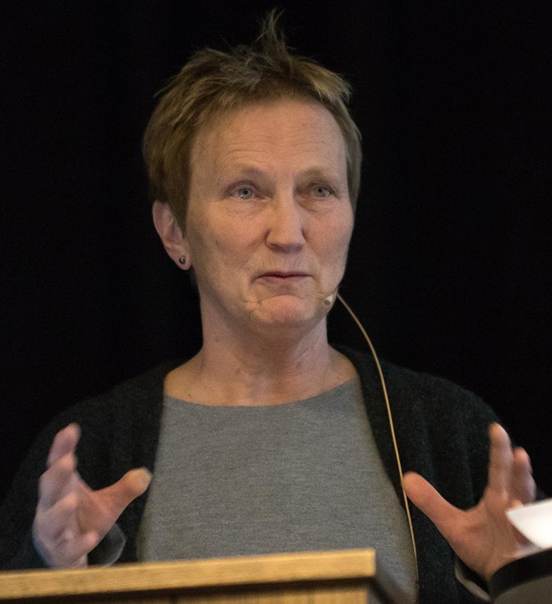 Anne Marie Aamelflot-Hjelle. Foto: Kjell Bitustøyl