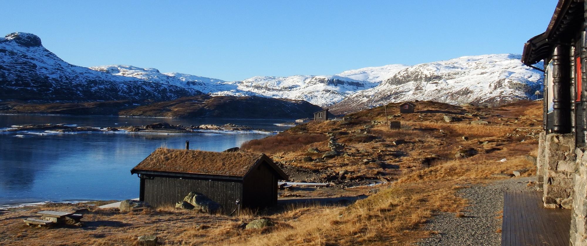 Frå Haukeliseter og vestover. Foto: Tor Punsvik