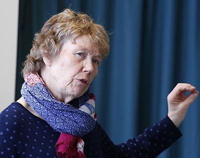 Ellen Korvald frå Buskerud fylkeskommune er prosjektleiar for arbeidet. Arkivfoto: Anders Mossing