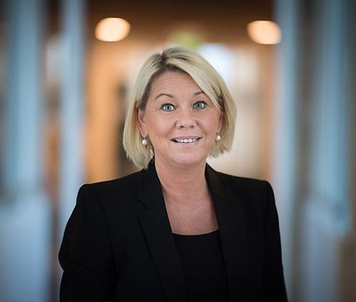 Kommunal- og moderniseringsminister Monica Mæland (H) har sagt ja til utbygging i Sysendalen. Foto: Torbjørn Tandberg