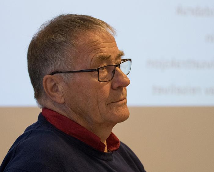 Lars Bjaadal er leiar i Hardangerviddarådet. Foto: Kjell Bitustøyl