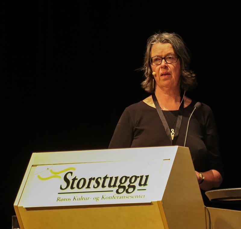 Birgitta Åhman, professor ved Svensk lantbruksuniversitet i Umeå, og leiar for AUC 2019 i Jokkmokk. Foto: Kjell Bitustøyl