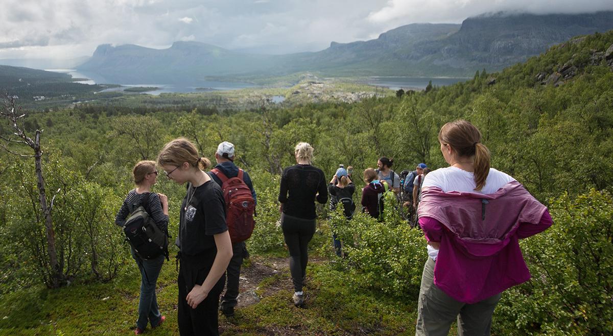 Eit høgdepunkt: Besøk i verdsarvområdet Laponia i Jokkmokk kommune. Foto: Kjell Bitustøyl
