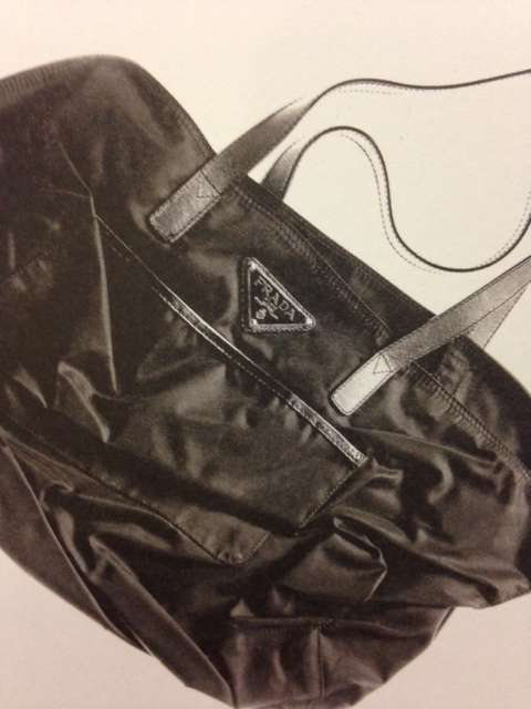 The very first Prada nylon bag
