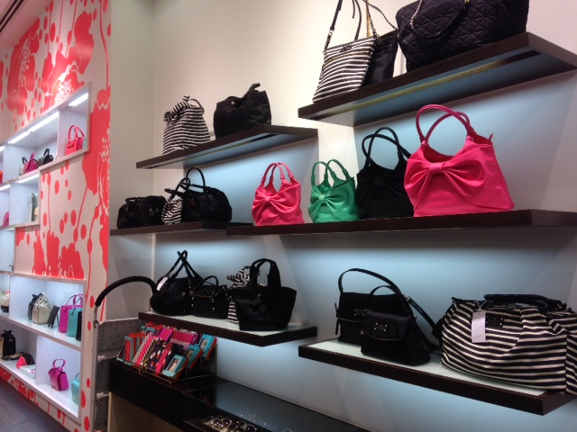 Kate Spade store at Raffles City