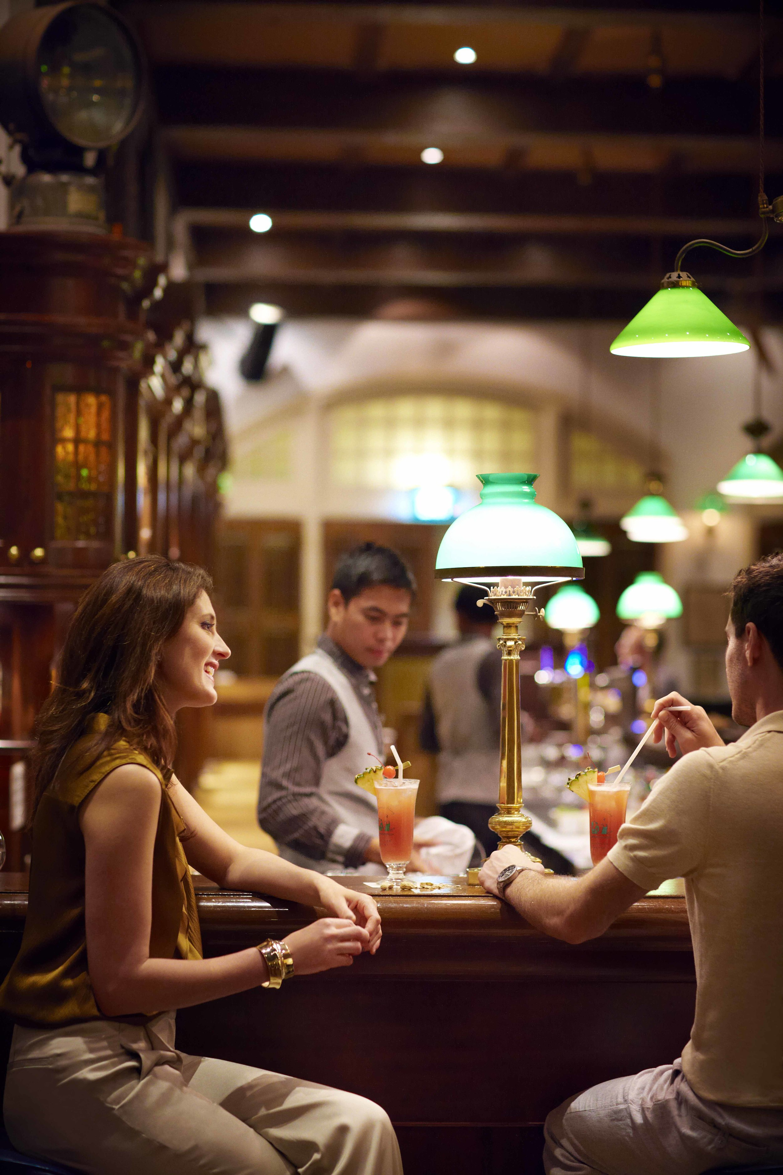 The Long Bar is a place where conversations are made, kept and remembered.