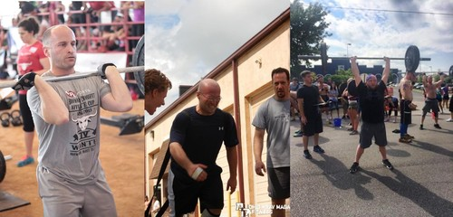 Activate Beast Mode! Grosshandler brothers at various CrossFit competitions over the years.