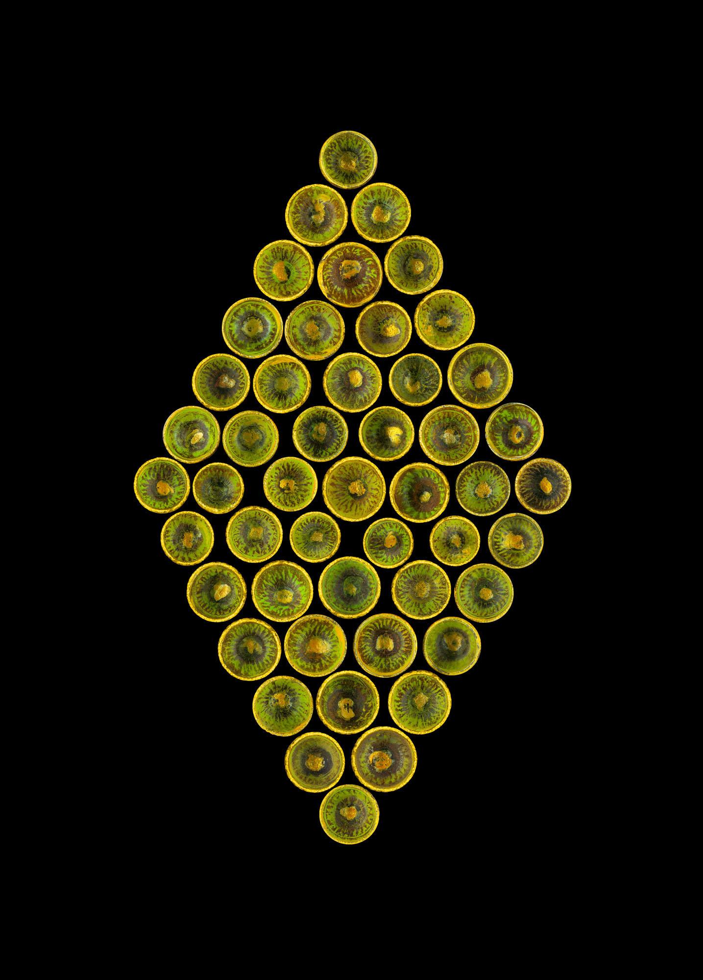 Acorn Caps Green