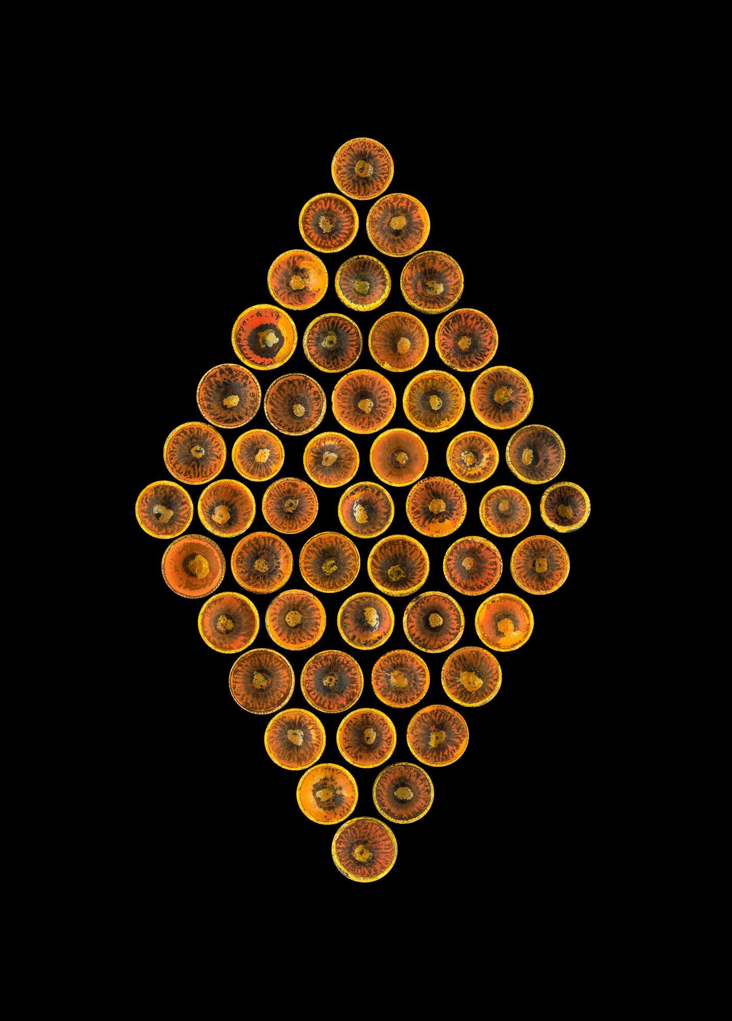 Acorn Caps Orange