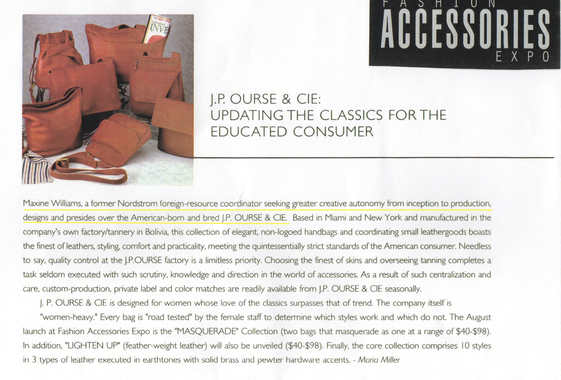 Accessories Magazine...