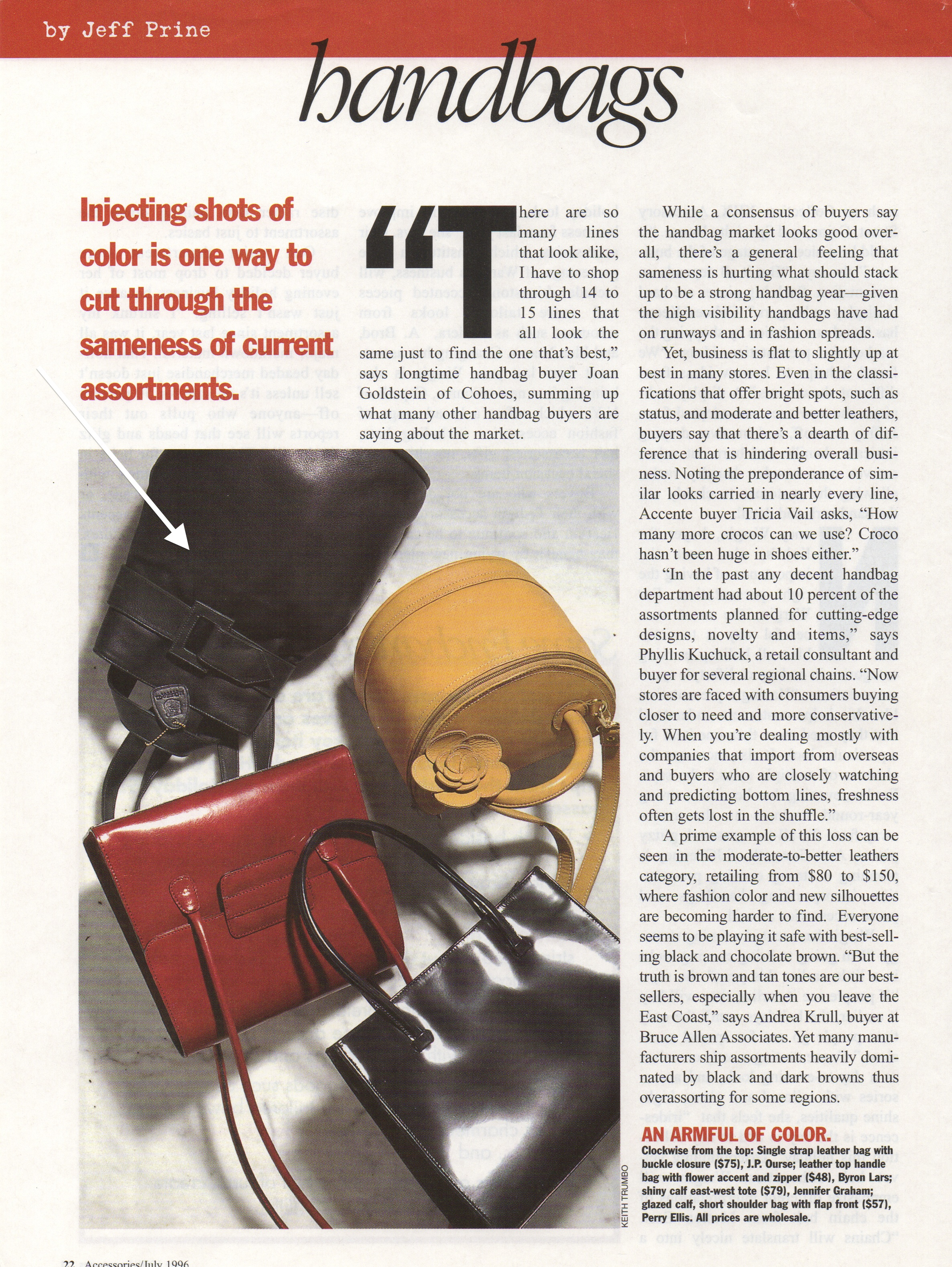 Another article featuring design