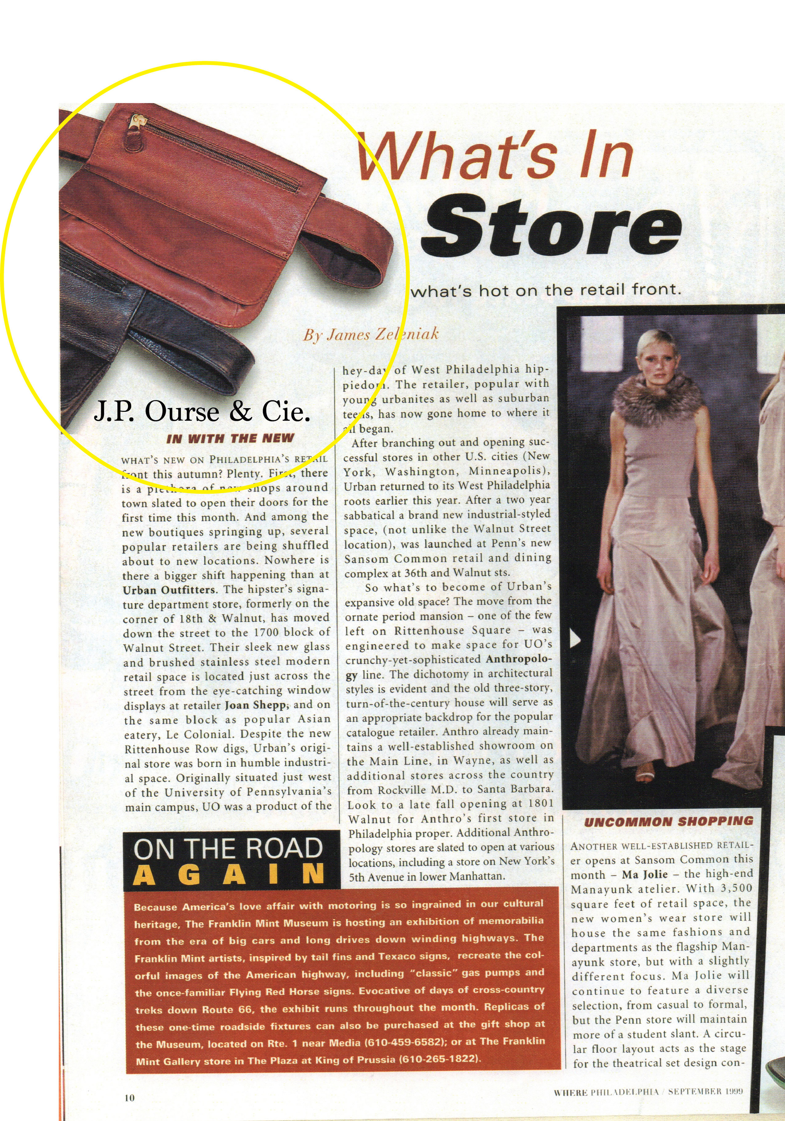 Belt Bags featured in WHERE