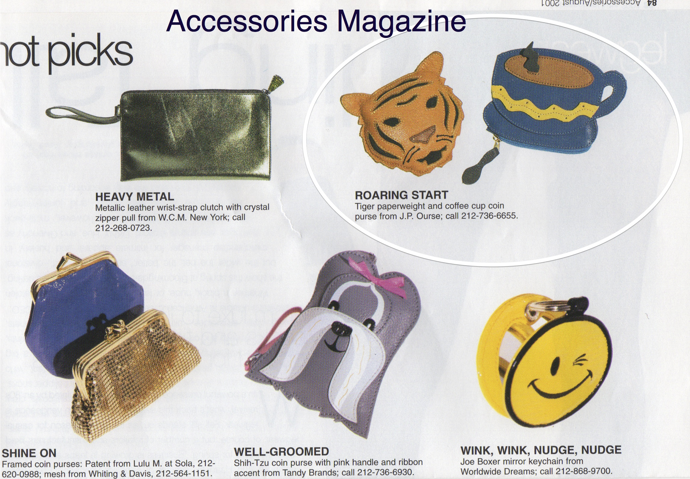 HOT PICKS from Accessories Magazine