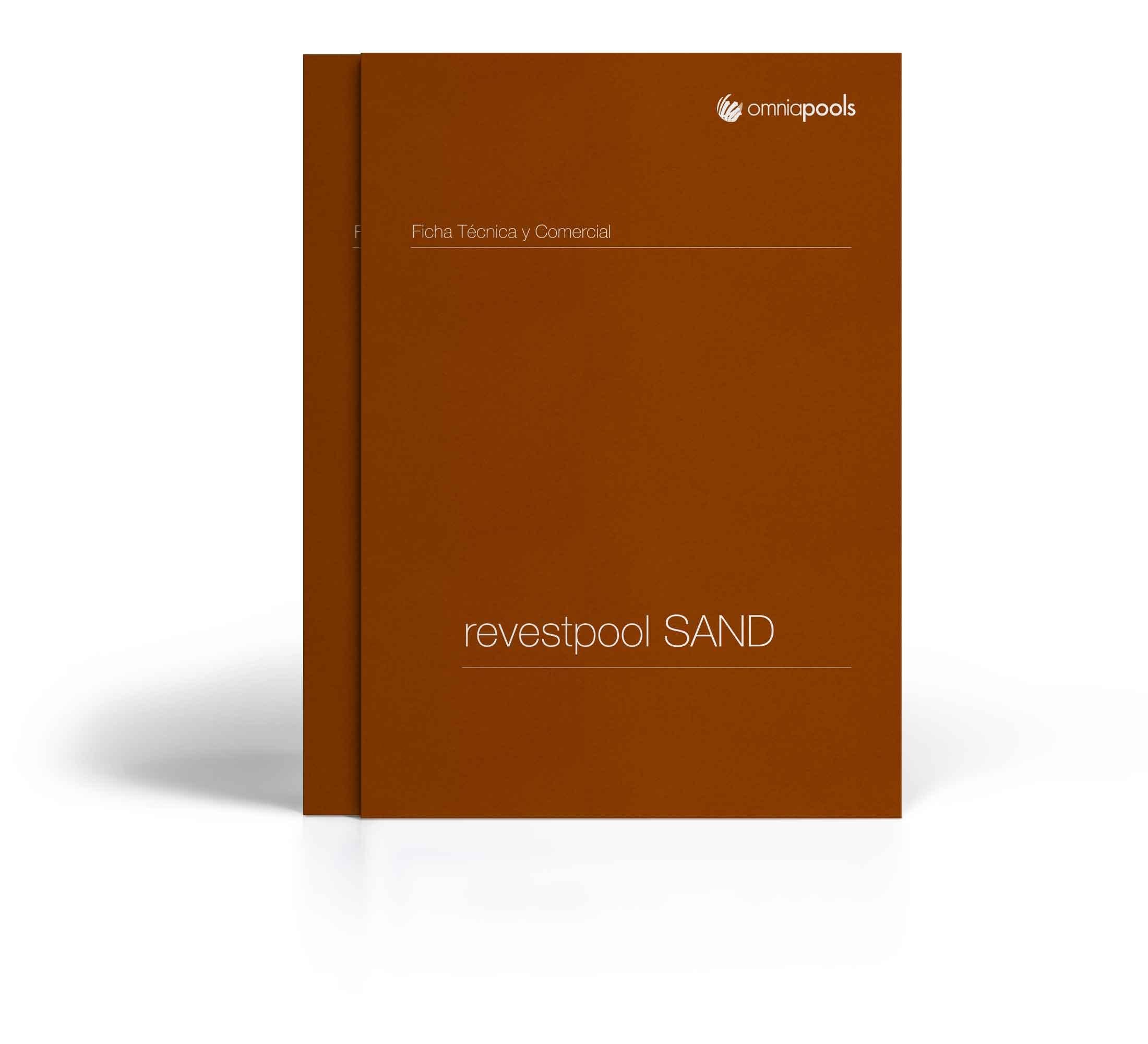 Construcción de piscinas de imitaciónARENA con el sistema Revestpool SAND
