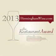 BirminghamWine.com names Nabeel Cafe a recipient of the Wine Restaurant Awards 2013-2014