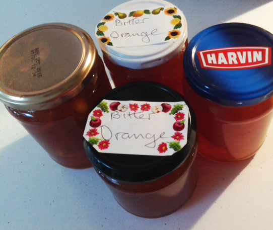 Recent additions to my marmalade stash