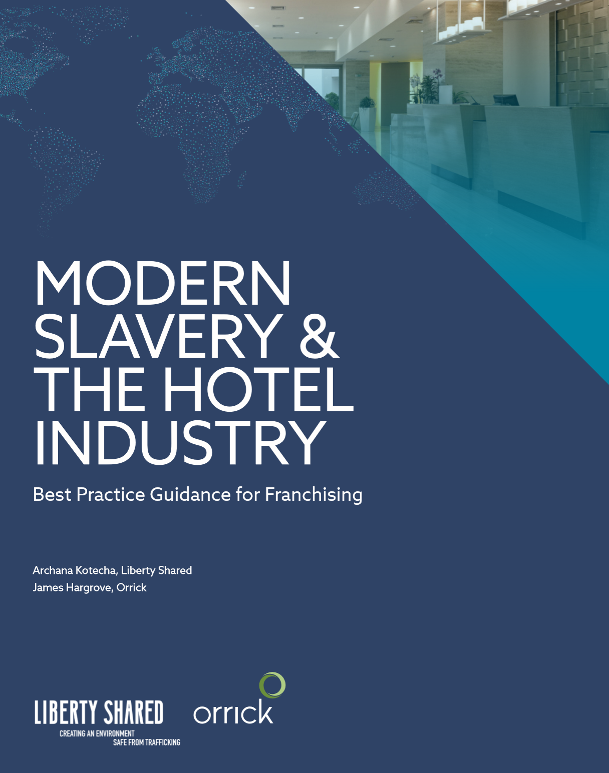 The hotel industry is inherently vulnerable to modern slavery due to the nature of the industry, the web of business relationships connected with each hotel and the consequent needs of each hotel, such as the need for a wide array of reasonably priced services, its seasonality, and labour supply. With the rise of modern slavery and supply chain transparency laws, the hotel industry can no longer look the other way and continue to operate without any accountability. This guide sets out practical solutions aimed at ensuring that a franchisee's operations have the relevant safeguards in place to prevent human trafficking, forced labour and other forms of exploitation. - By: Liberty Shared and Orrick