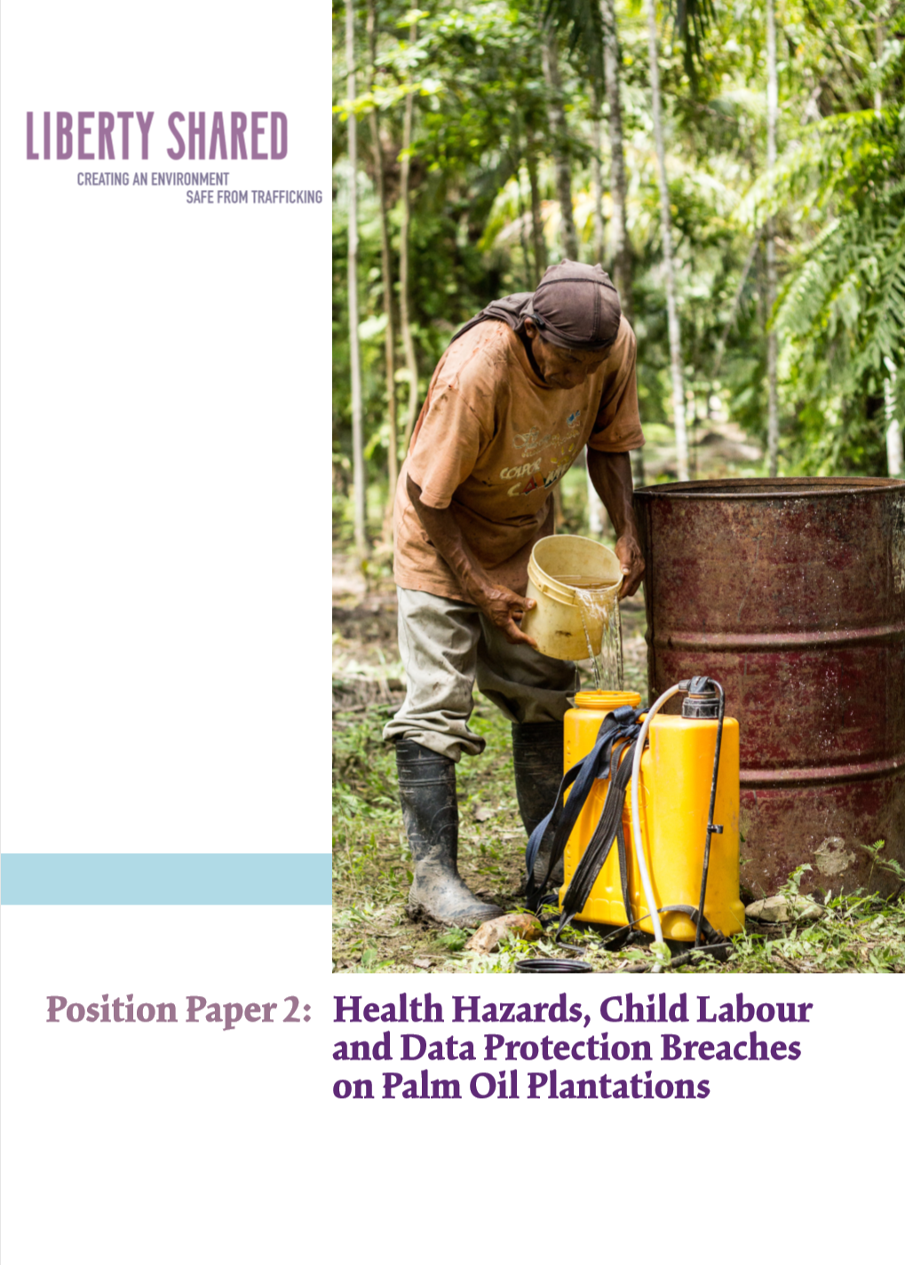 This paper is the second in a series of five position papers highlighting financial and legal risks arising from the current governance, management, supervision and administration of labour to the palm oil industry. The report identifies numerous potential liabilities for palm oil buyers and investors to consider when making investments in this sector to avoid facilitation and profit generation from labour abuses and failure to take action to address these issues. As transparency and accountability in the supply chain are on the rise, there is a need for vigilance in the industry and effective governance, monitoring and supervision systems at all levels of the palm oil supply chain to ensure that the rights of the workers are respected. -