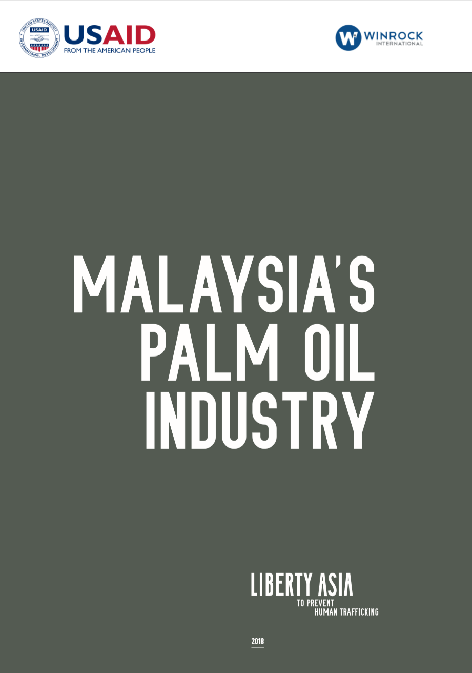 The report is an industry-focused analysis of the Malaysian palm oil industry with specific insights into the industry's governance and investment framework, relevant labour laws that apply to migrant workers in the industry and various dispute resolution mechanisms that are available to address disputes of individuals and communities affected by the operations. Several initiatives and guidance to improve the governance and social framework, certification standards and responsible investment including Environmental Social Governance reporting are discussed to highlight the multiple opportunities that are available to a range of stakeholders including the business community, civil society, law enforcement and industry bodies in the palm oil industry to leverage existing opportunities to improve social standards particularly social issues that affect the migrant worker communities and create a change in business practices that respond to and respect the human rights. -