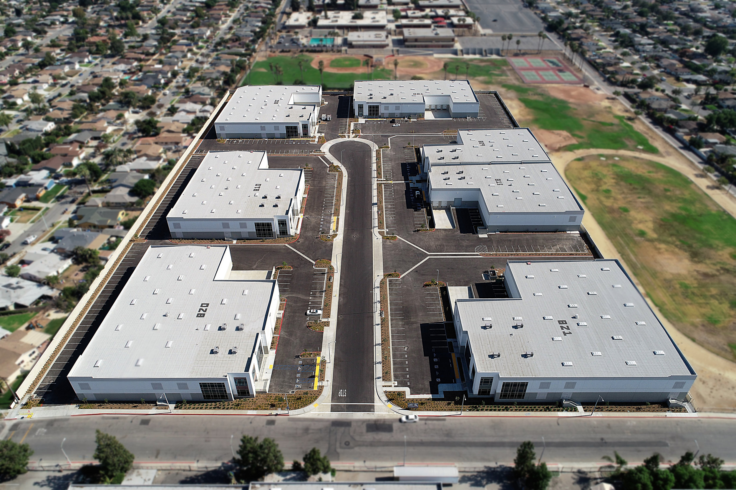 Industrial: New 7 Building 250,000 SF Business Park (City of Industry)