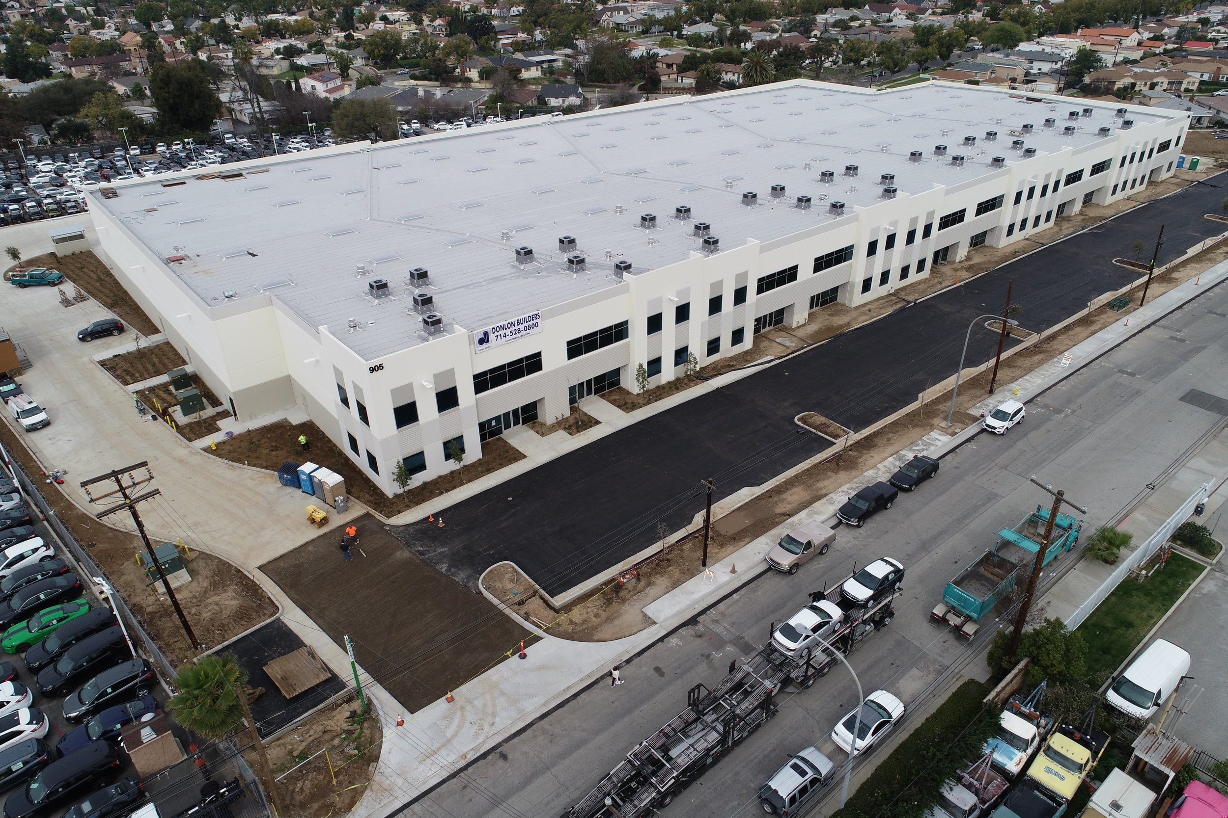 Industrial: New Construction 125,000 SF 9 unit multi-tenant Building