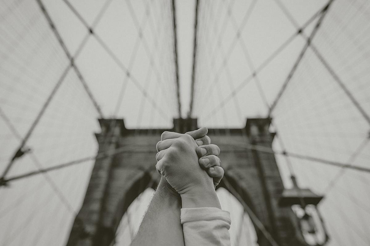 Förlovning Brooklyn bridge