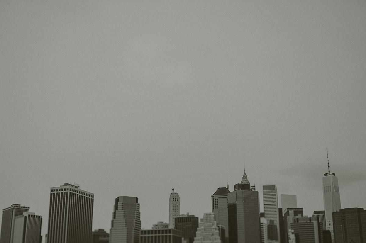 Manhattan från Brooklyn