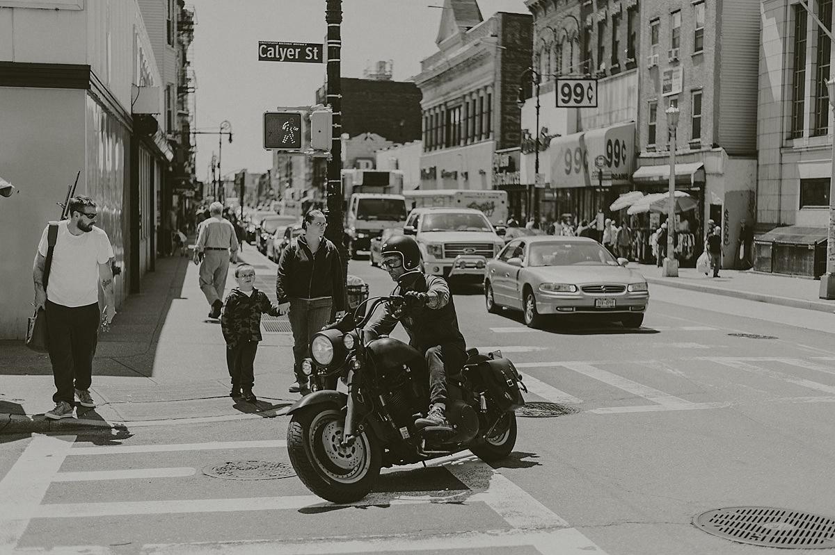 Motorcykel New York