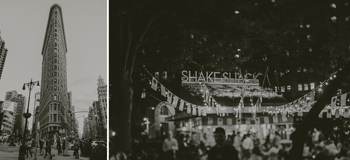 Flatiron och Shake shack