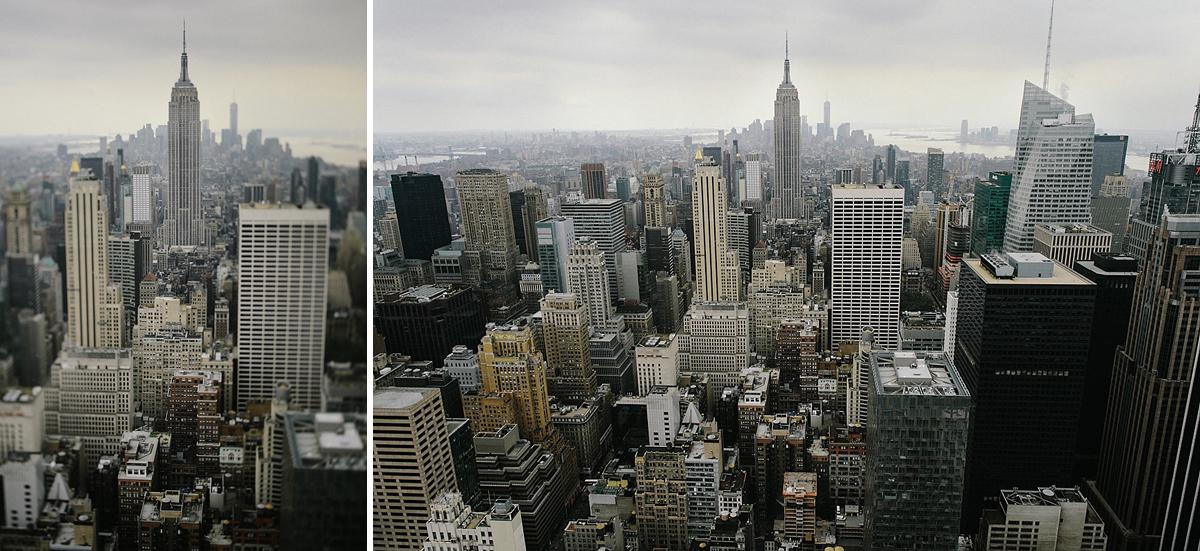 Manhattan från top of the rock