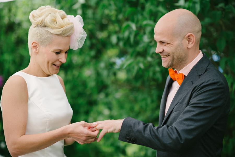 Bröllops vigsel