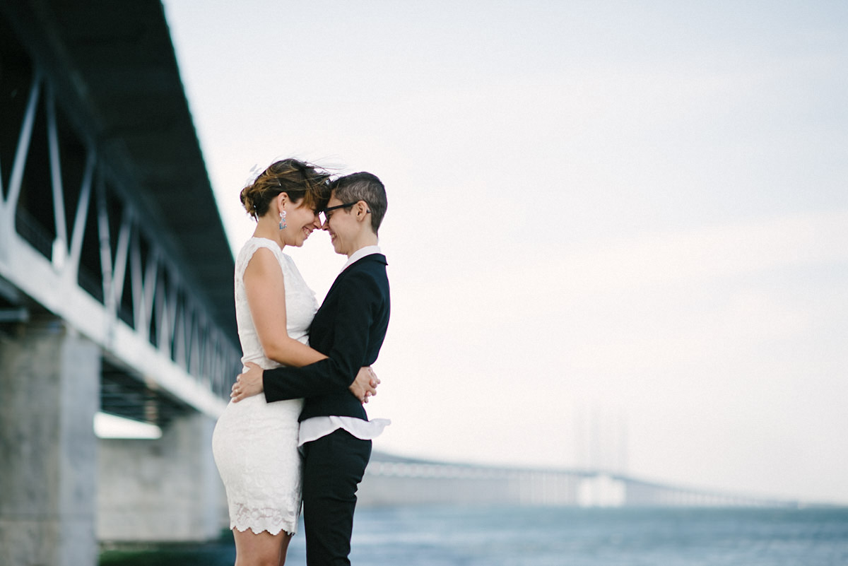 Wedding couple Sweden