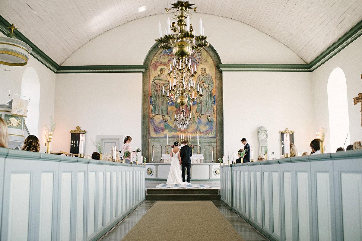 Inuti Hovs kyrka