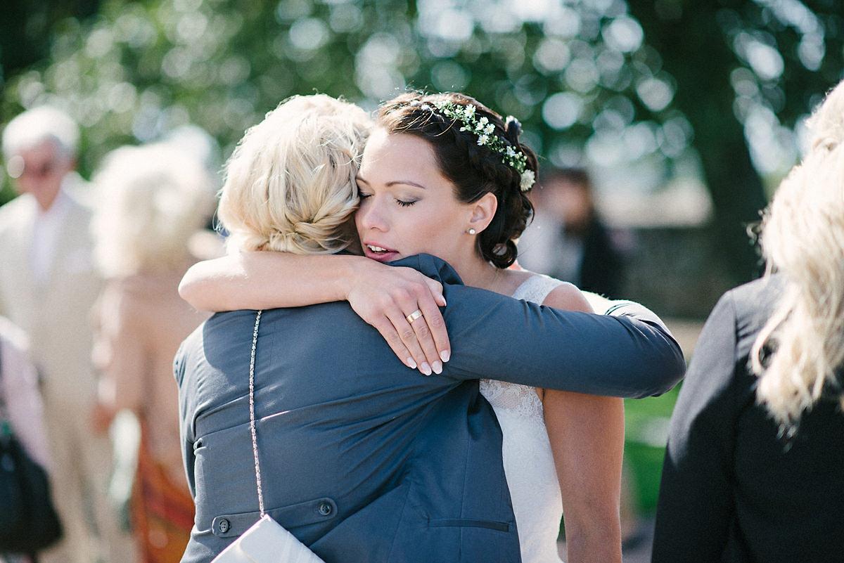 Vänner bröllop
