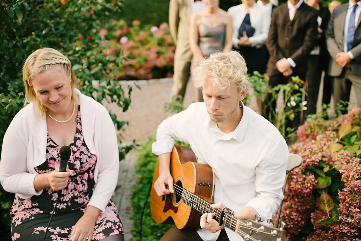 Bröllop Linneaträdgården