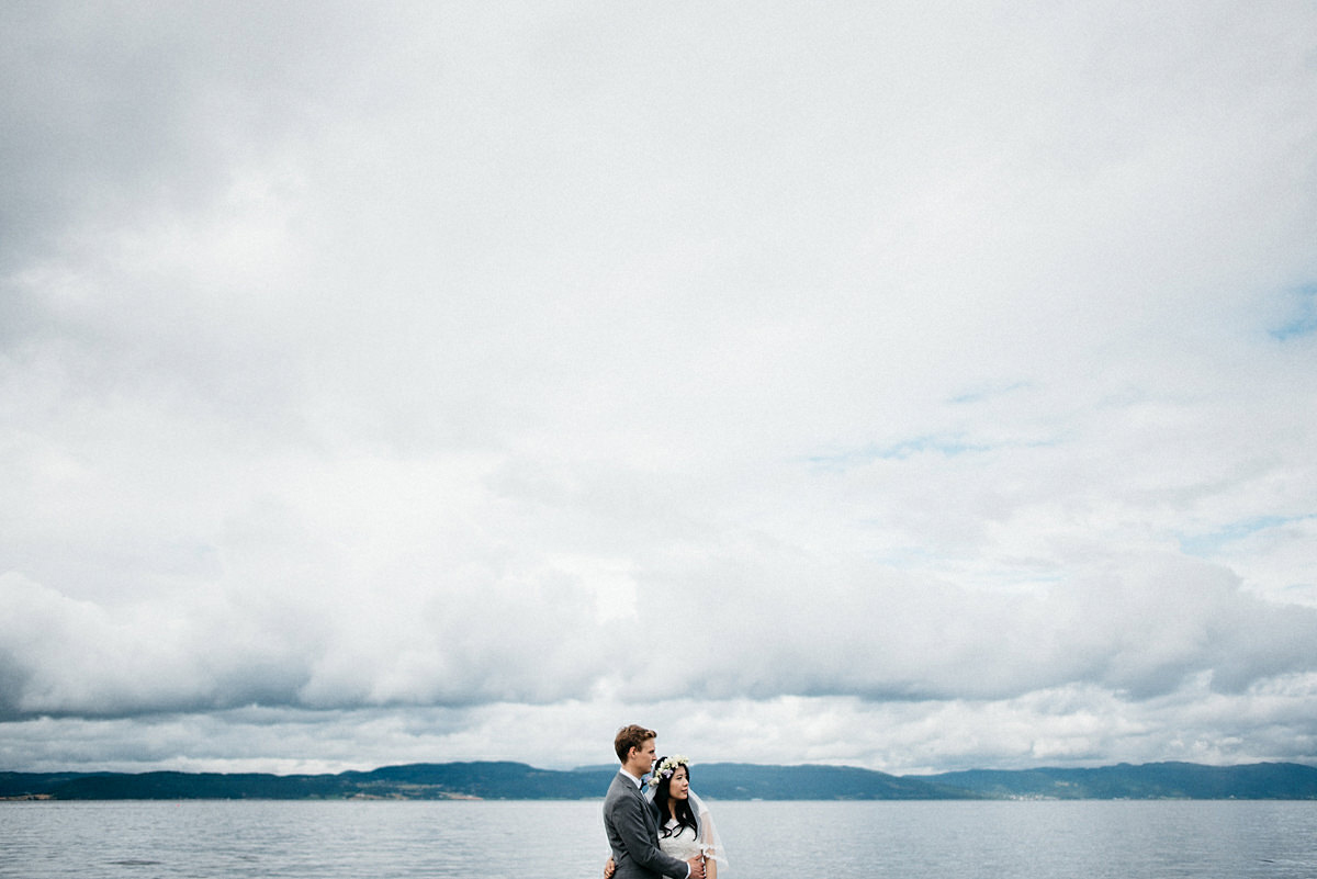 Destination wedding photographer Norway