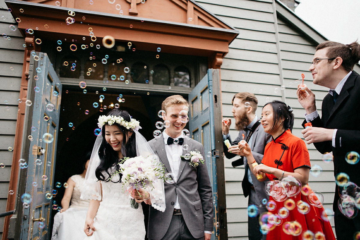 Trondheim church ceremony