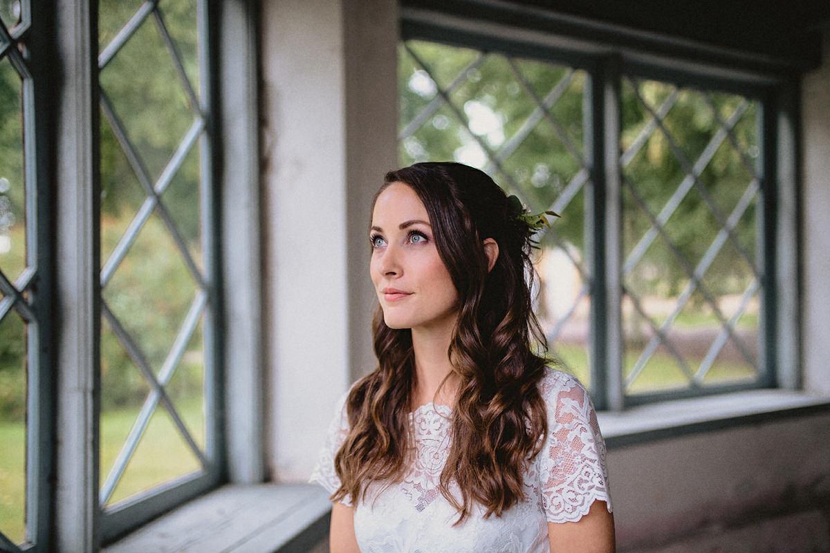 Bride portrait Sweden
