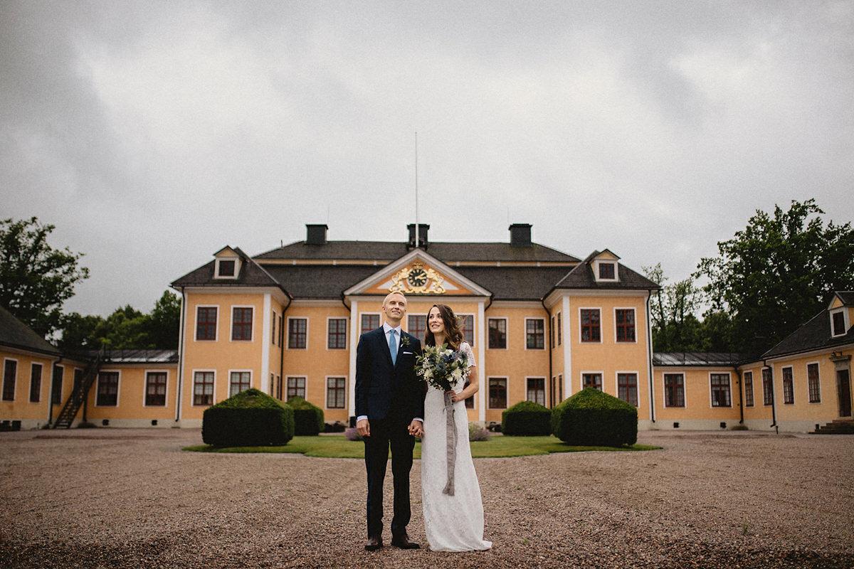 Wedding photography at Lovstabruk Tierp