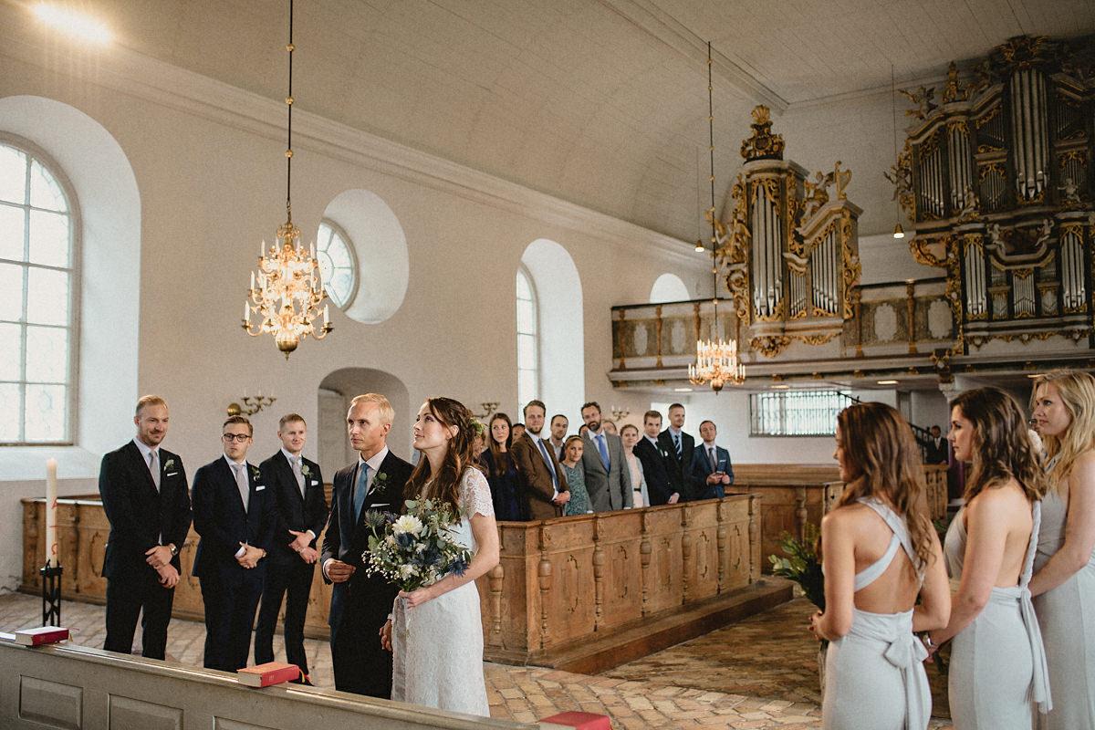 Wedding ceremony Tierp