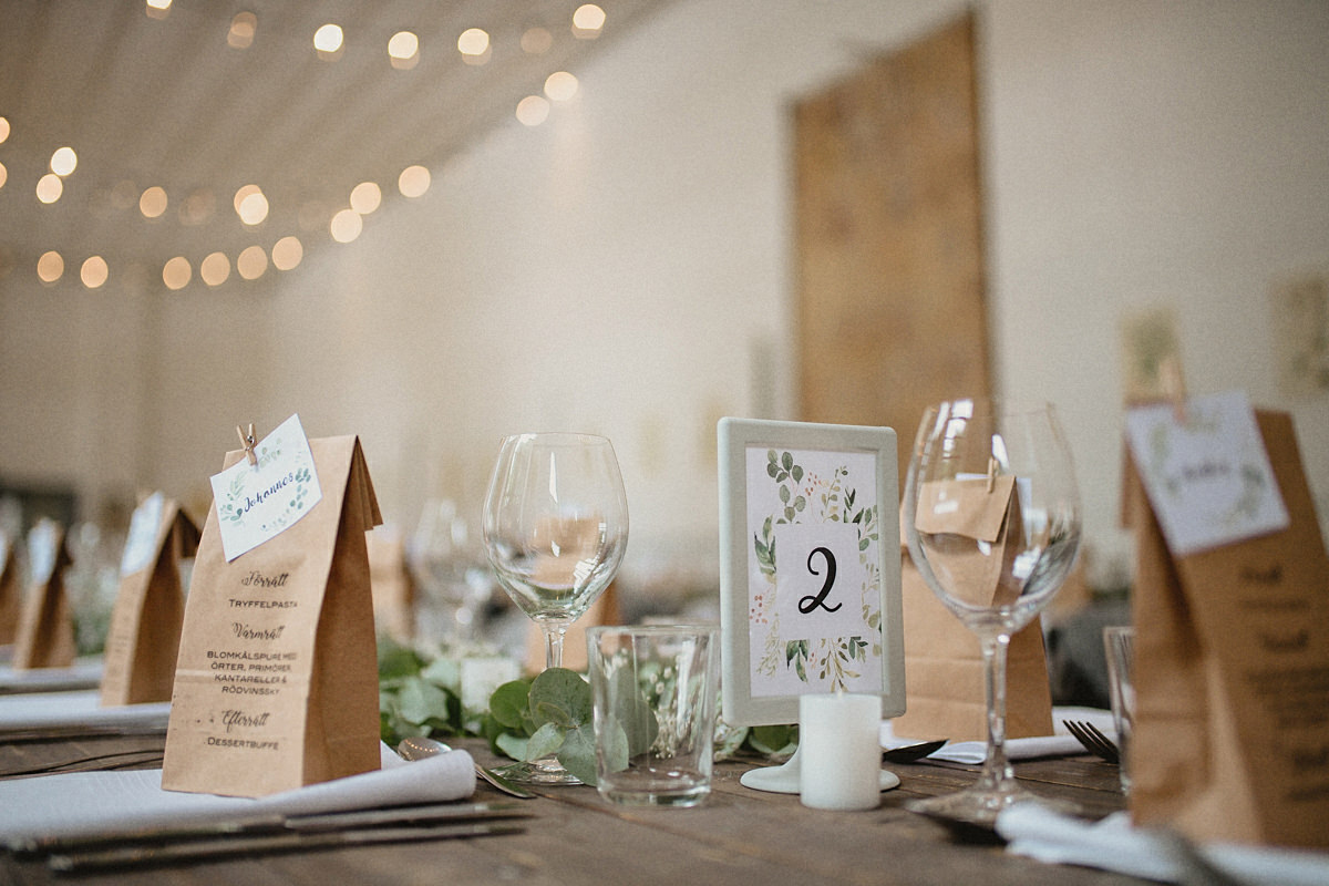 Wedding details rustic