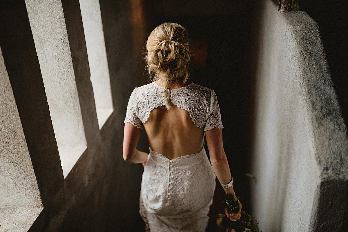 By Malina Bridal wedding dress