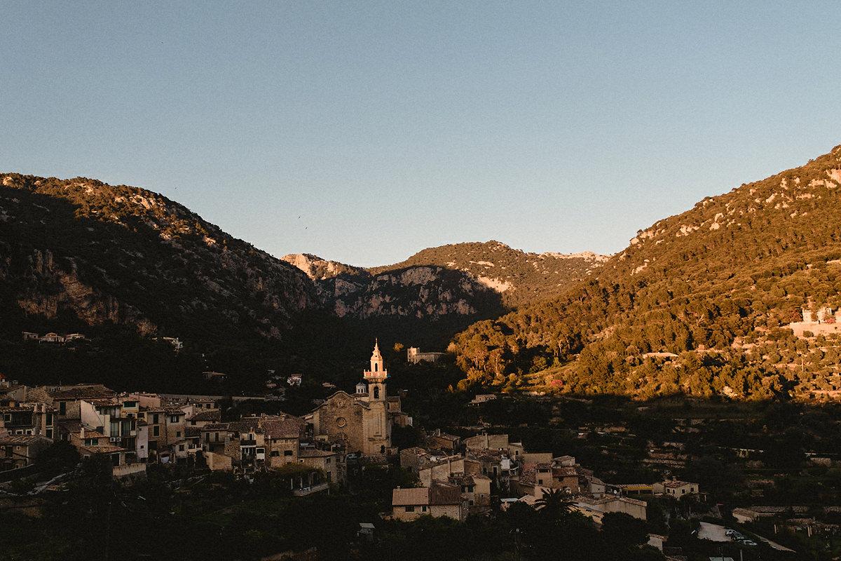 View of Valldemossa Mallorca