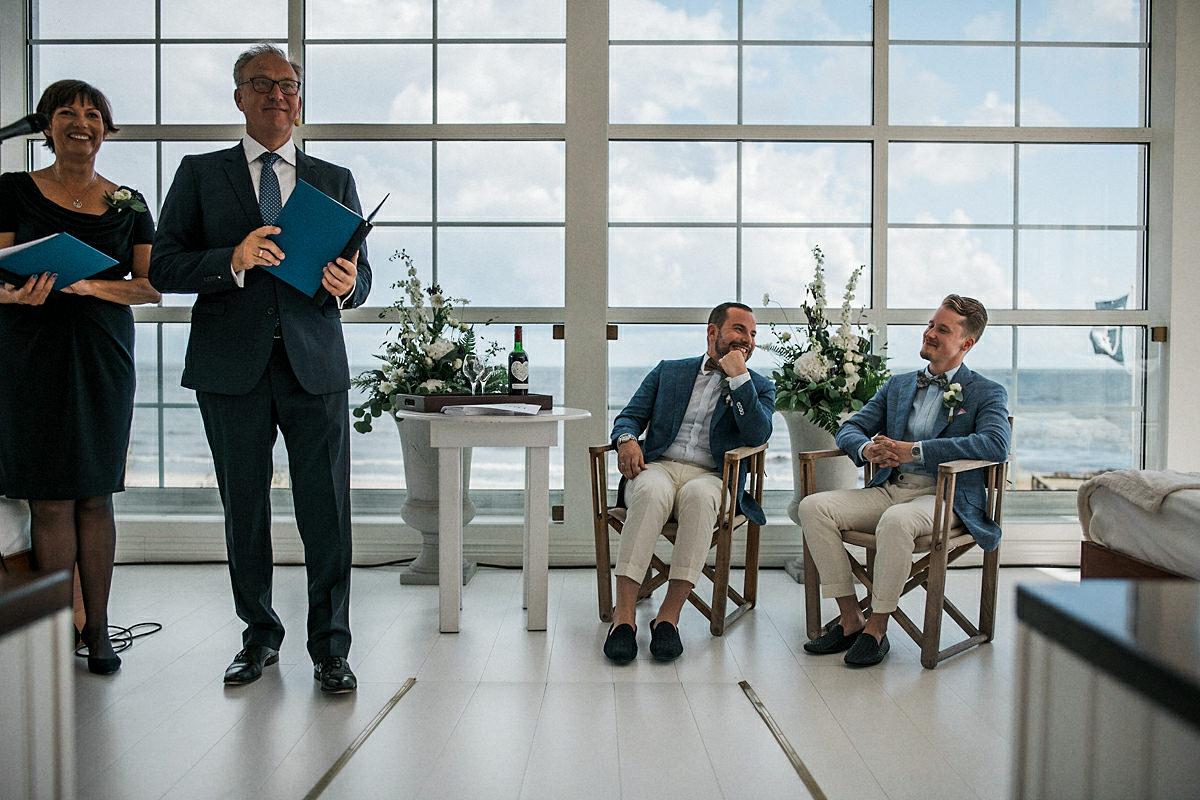 Jewish wedding Sweden