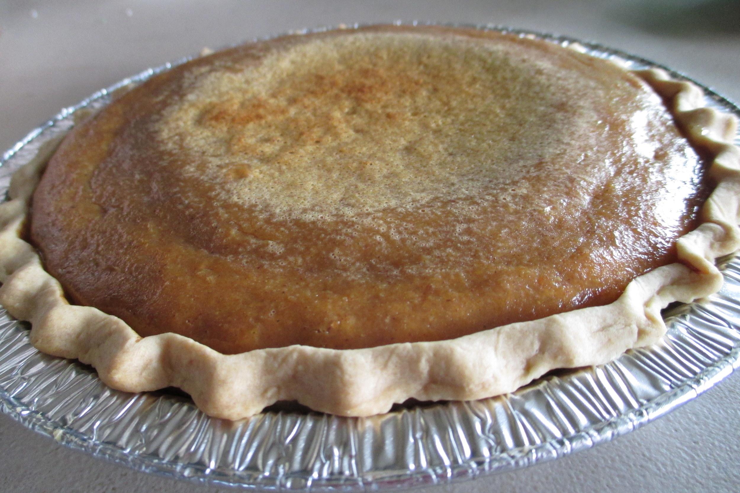 Pumpkin Pie - Mouthwatering & heavenly.